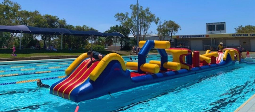 Have Some Fun On Our Dual Racer Inflatable